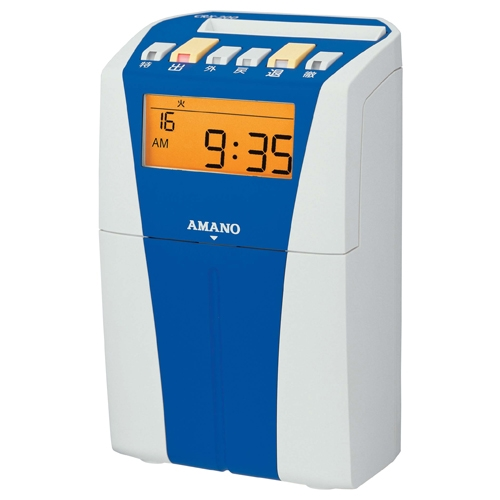 アマノ 電子タイムレコーダー CRX-200 ブルー