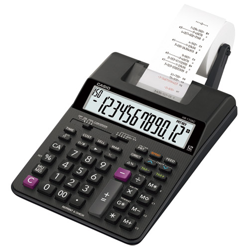 CASIOCASIO プリンター電卓HR-170RC-BK, おかべ水産:d9853004 --- officewill.xsrv.jp