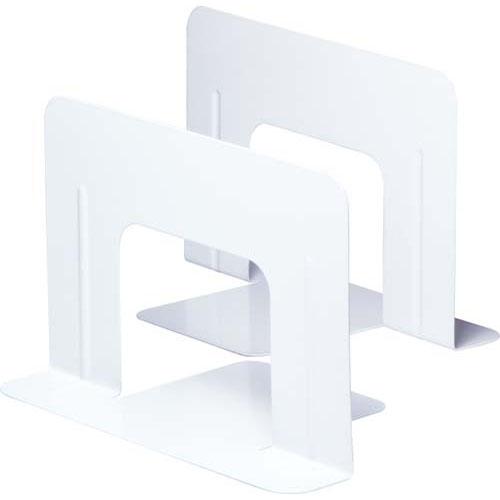 ソニック 価格 交渉 送料無料 ブックエンド ワイド 安心と信頼 1組 白 2枚 DA-550-W