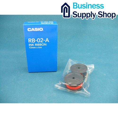カシオ プリンタ用電卓インク RB-02-A ご予約品 送料無料限定セール中