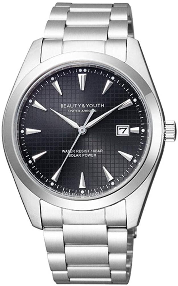 日本限定 ビューティ ユース 人気 おすすめ ユナイテッドアローズ 腕時計 ソーラー Solar ブラック Date Basic
