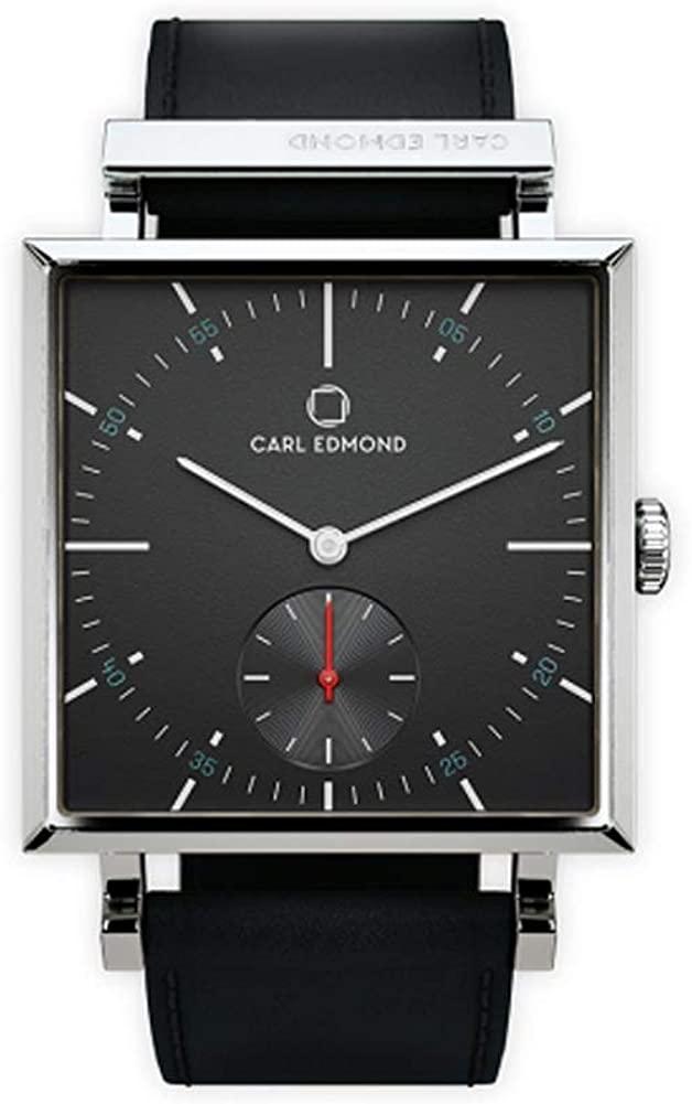 新作モデル CARL EDMOND CEG2955-B18 カールエドモンド 腕時計 CARL Granit EDMOND CEG2955-B18 ブラック 新品, MDD:25830e51 --- rishitms.com