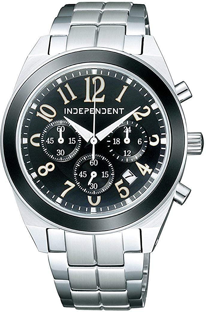 インディペンデント キャンペーンもお見逃しなく INDEPENDENT クロノグラフ BA4-019-53 腕時計 無料