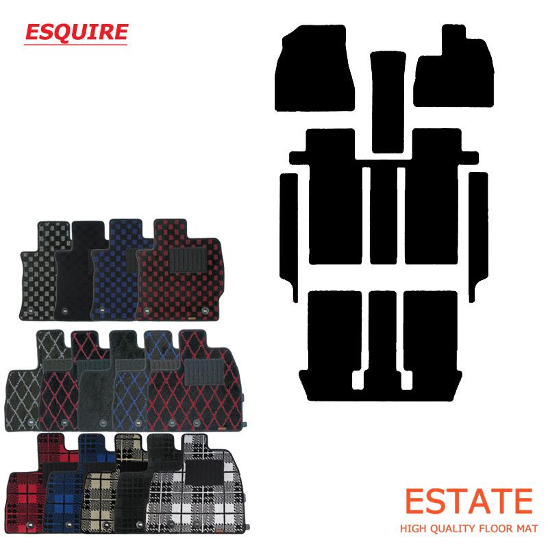 トヨタ エスクァイア プレイドシリーズ ESQUIRE エスクワイア フロアマット カーマット floormat【送料無料