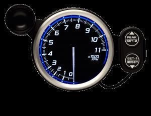 Defi Racer Gauge N2 デフィ レーサーゲージ 80Φ タコメーター(0-11000RPM) DF17301 「送料無料!!」