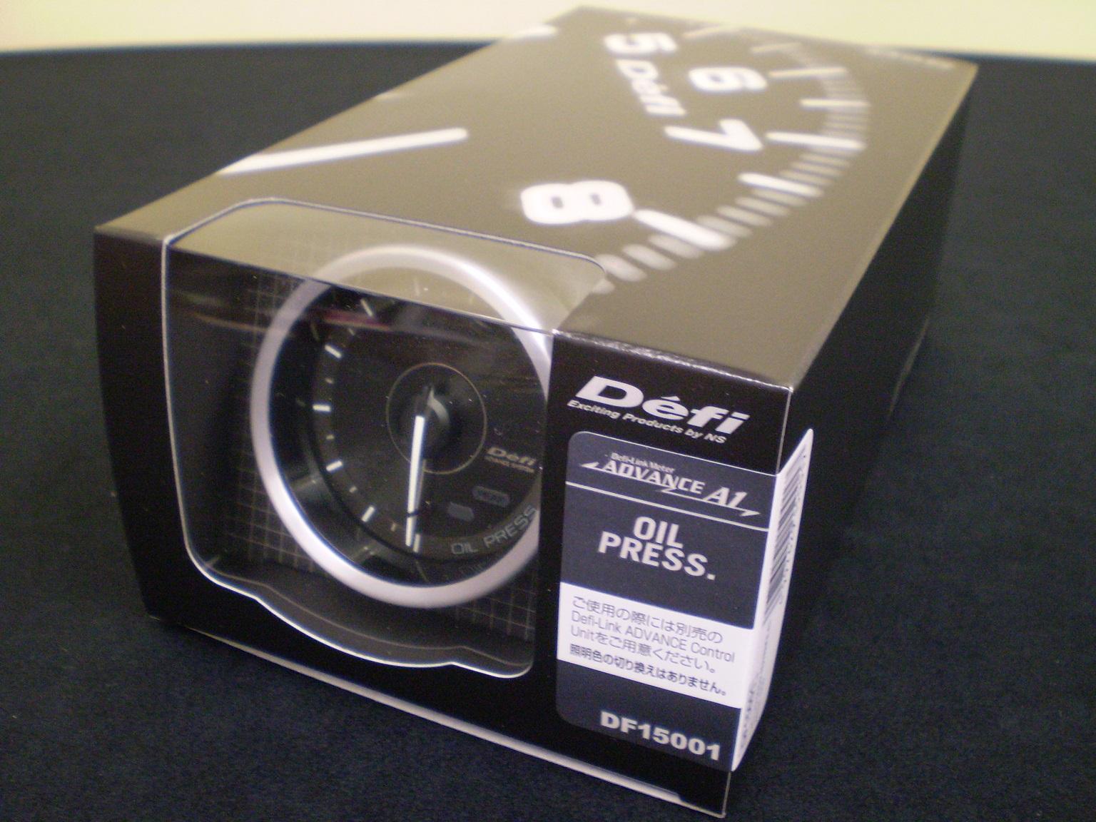 日本精機 Defi デフィ ADVANCE A1 60Φ 油圧計 DF15001「送料無料!!」
