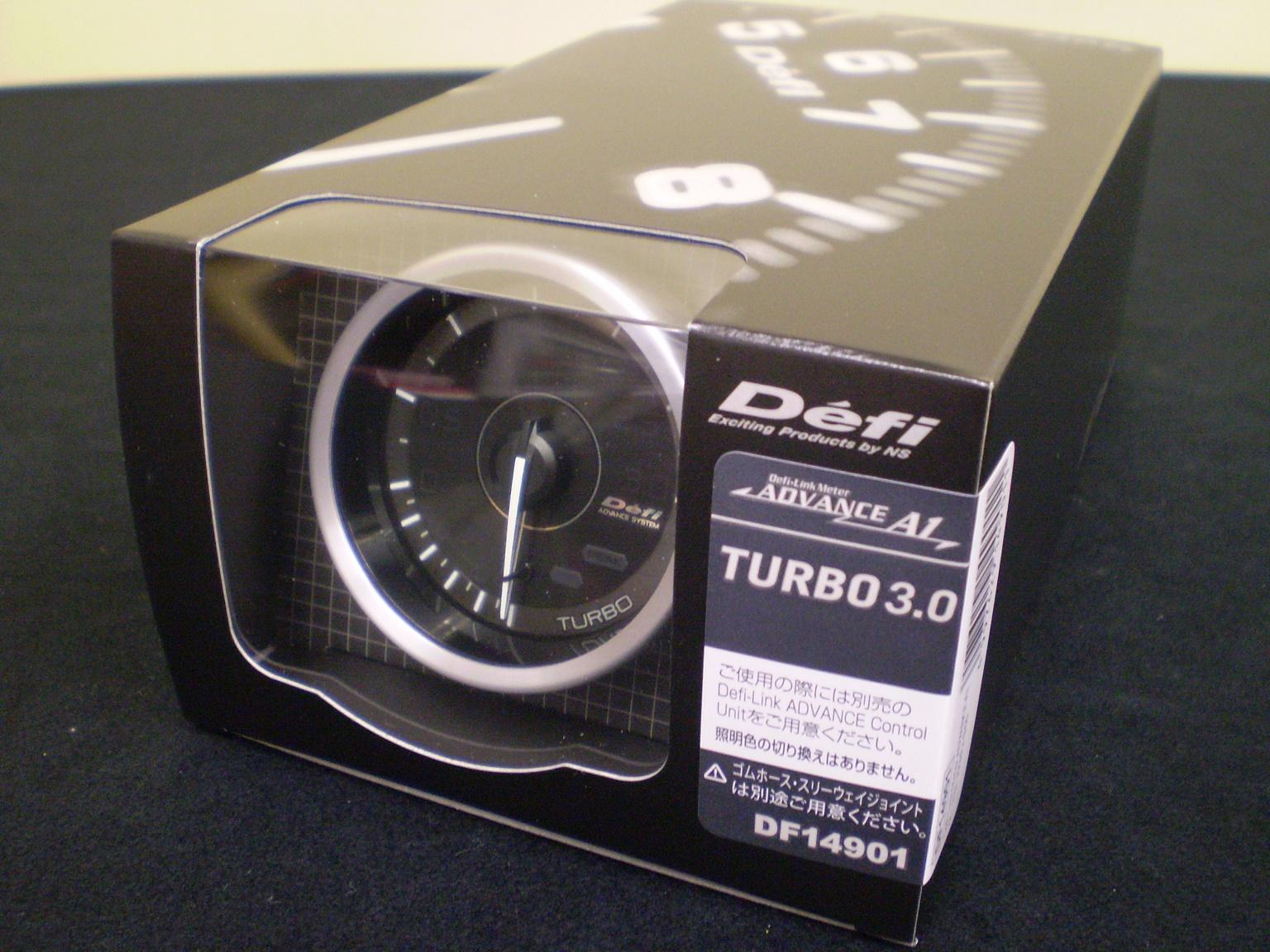 日本精機 Defi デフィ ADVANCE A1 60Φ ターボ計 ( ブースト計 ) MAX表示 300Kpa DF14901「送料無料!!」