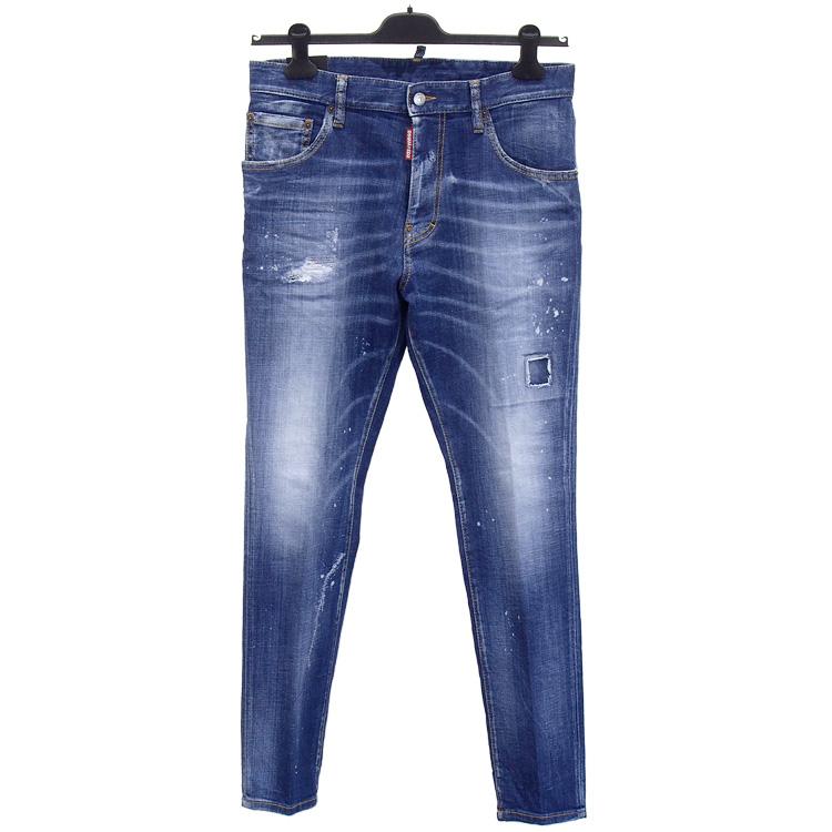 ディースクエアード DSQUARED2 ジーンズ デニム STRAIGHT LEG BOOT CUT JEAN LB0671-S30342-470
