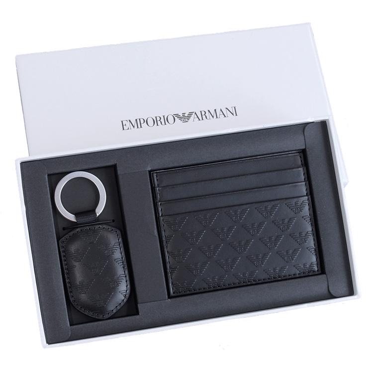 エンポリオアルマーニ EMPORIO ARMANI カードケース&キーホルダー Y4R264-YC043-80001