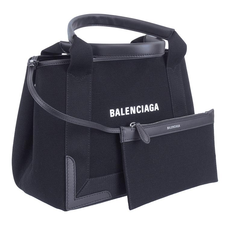バレンシアガ BALENCIAGA バッグ トートバッグ キャンバス NAVY CABAS 339933-AQ38N-1000
