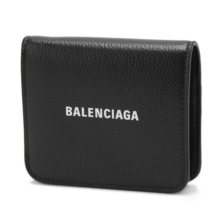 バレンシアガ BALENCIAGA ミニウォレット 2つ折り 財布 小銭入れ付き 594216-1IZ4M-1090