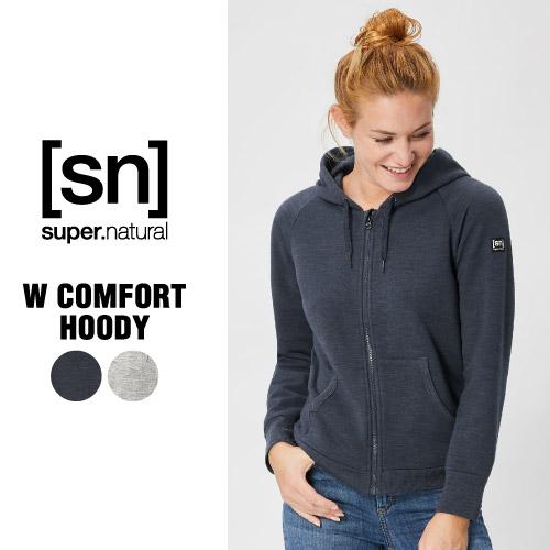SN / スーパーナチュラル / レデイース / W Comfort Hoody /【SNW009030】/ (エスエヌ・スーパーナチュラル)[sn] super.natural レディース ヨガ ベーシック シンプル Tシャツ