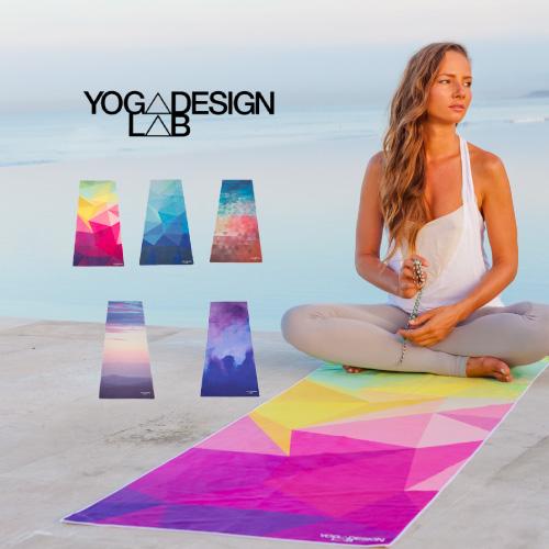 Yoga Towel Function: Luana Terrace: Eco-yoga Towel Mat Towel (Yoga Design Lab