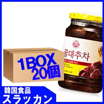 【三和蜂蜜なつめ茶500g 20個 1BOX】
