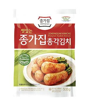韓国本場のキムチ 韓国代表食品 宗家 チョンガクキムチ500g 冷蔵 在庫切れの場合来週発送になる可能性有 5個以上予約要☆ 入荷毎週木曜日-順番で発送 パッケージ変更有 海外 毎日激安特売で 営業中です