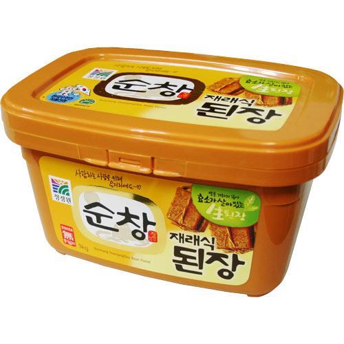 韓国本場ではこの商品が一番 スンチャン 味噌500g 韓国食品 高価値 韓国料理 オモニの味 ●手数料無料!! デンジャン 豆 韓国味噌 ダイエット食品 輸入 大象 健康食品 納豆 チャングム