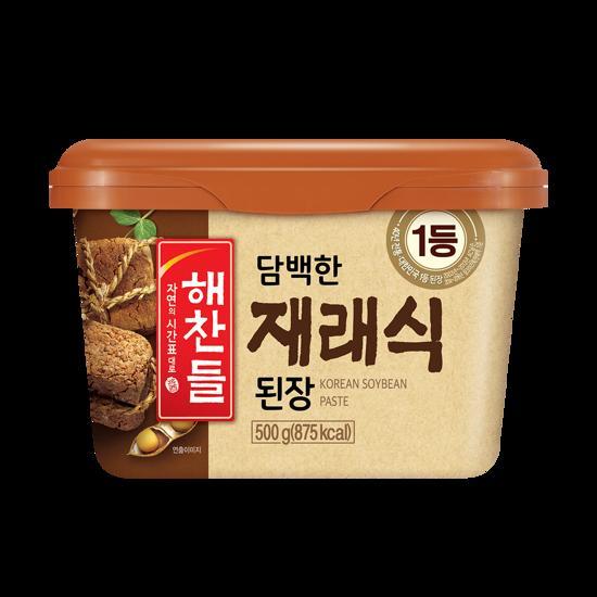 韓国食品 韓国料理 オモニの味 デンジャン 豆 輸入 CJ ヘチャンドル味噌500g 日本で一番売れてる 新商品 健康食品 ダイエット食品 チャングム 期間限定今なら送料無料 韓国味噌 納豆