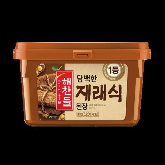 韓国食品 韓国料理 オモニの味 デンジャン 豆 輸入 登場大人気アイテム CJ チャングム 味噌3kg 納豆 新着セール ダイエット食品 韓国味噌 健康食品 ヘチャンドル