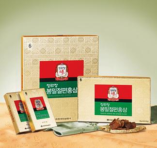 ■GIFT用としても最適!韓国人参公社(正官庄)■蜂蜜切り餅紅参20g×12個【基本送料無料】※予約販売品※