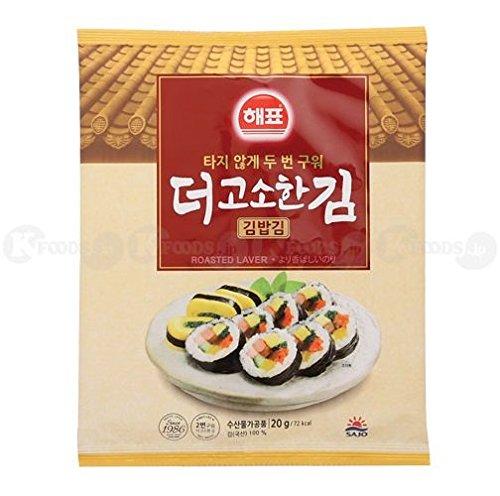 手巻き寿司 におすすめ 舗 焼き海苔 全形 1袋 韓国産 のり巻き用のり 超特価 10枚入り ヘピョ