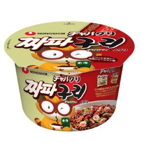 韓国食品 韓国料理 国内在庫 韓国食材 韓国ラーメン ラーメン 辛いラーメン 人気上昇中 インスタントラーメン カップラーメン ノグリ 114gx1個 大 農心 カップ麺 チャパゲティ チャパグリ