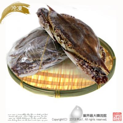スラッカンプラス 【韓国食材|渡り蟹|冷凍】■ケジャン・チゲ・鍋用として大人気■冷凍 ワタリガニ 2−3匹(約1kg)★量り売り商品(1k…