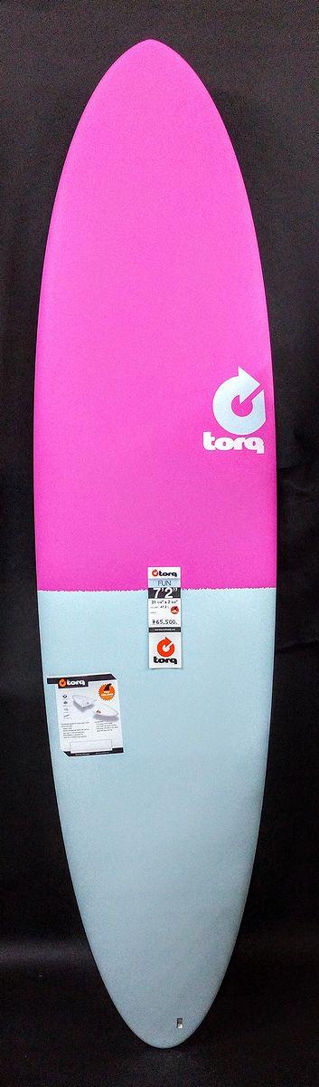 【FIFTY FIFTY】【TORQ SurfBoard トルク サーフボード 7'2】【ファンボード エポキシボード】【送料無料】フィンつき
