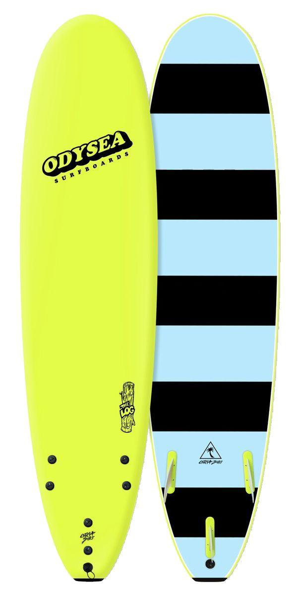 正規品[CATCH SURF/キャッチサーフ]【ODYSEA/オデシーLOG 】7'0 【ソフトボード、スポンジボード、ファンボード】イエロー