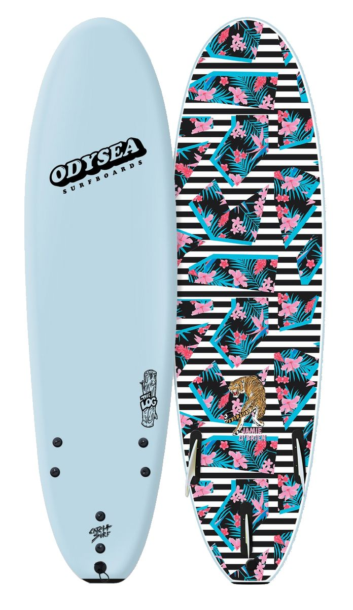 正規品[CATCH SURF/キャッチサーフ] 【ODYSEA/オデシーLOG 】7'0 【ソフトボード、スポンジボード、ファンボード】スカイ