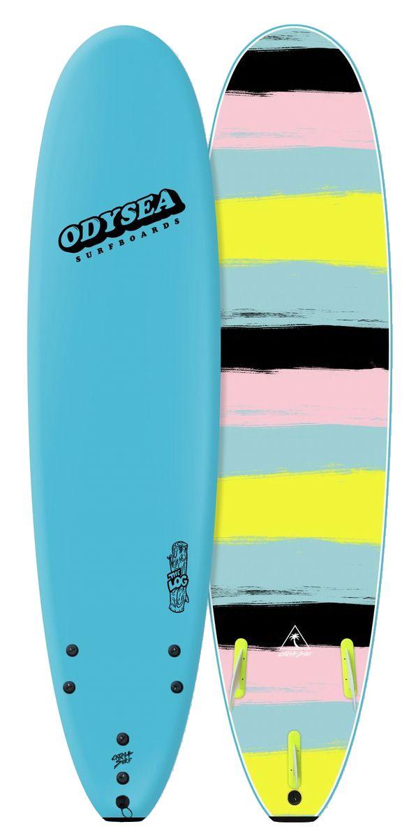 正規品[CATCH SURF/キャッチサーフ] 【ODYSEA/オデシーLOG 】8'0 【ソフトボード、スポンジボード、ファンボード】ブルー
