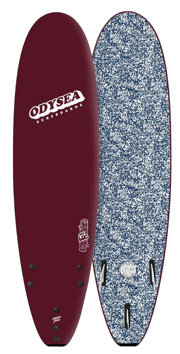 正規品[CATCH SURF/キャッチサーフ] 【ODYSEA/オデシーLOG 】ハリーブライアント 7'0 【ソフトボード、スポンジボード、ファンボード】バーガンディ