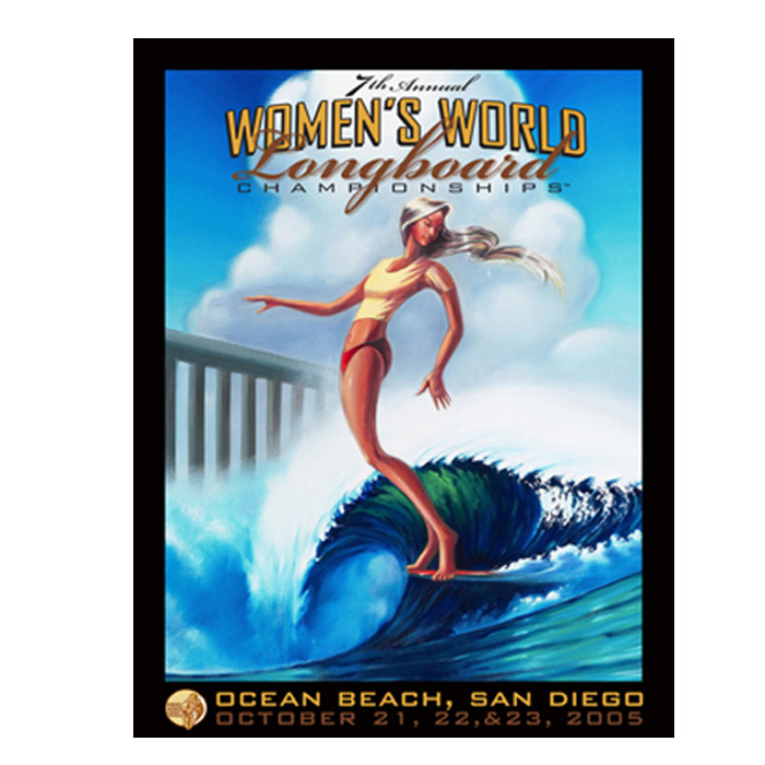 Surfcity: Surf Wade Koniakowsky Contest Poster 61 X 46 Cm