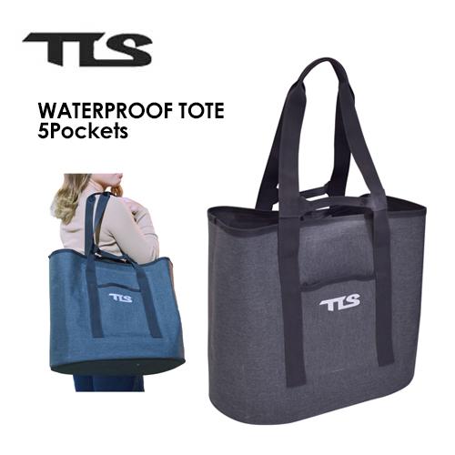 砂がついても水で丸洗いOK 大容量の48L 爆安 ●手数料無料!! TOOLS トゥールス サーフィン 防水 ウェットバッグ 5Pockets TOTE TLS WATERPROOF トートバッグ 大容量