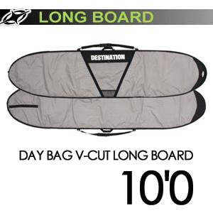 DESTINATION,ディスティネーション,サーフィン,サーフボードケース●DAY BAG V-CUT LONG BOARD 10'0''