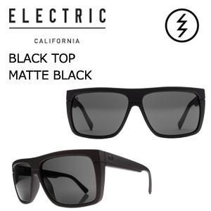 【送料無料】正規代理店,ELECTRIC,エレクトリック,サングラス,アイウェアー●BLACK TOP MATTE BLACK-M GREY