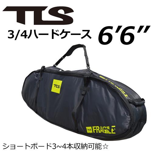 【送料無料】TOOLS,トゥールス,サーフボードケース,ハードケース,トラベルケース●TLS 3/4ハードケース6'6''