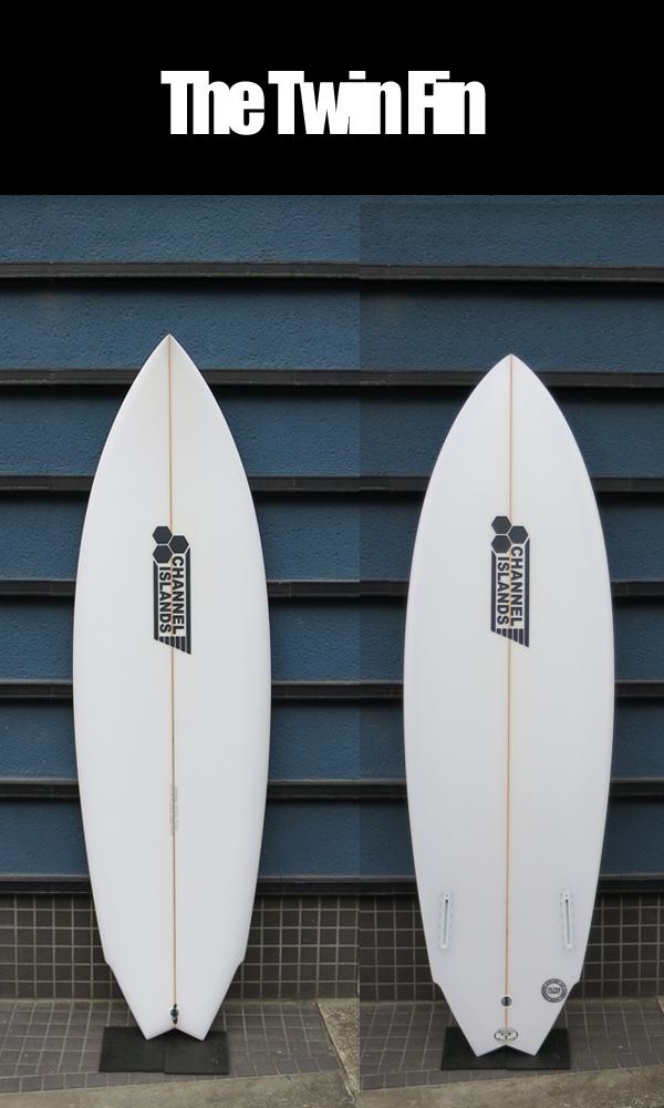 サーフボード,CHANNEL ISLANDS,AL MERRICK,アルメリック●The Twin Fin 5.7