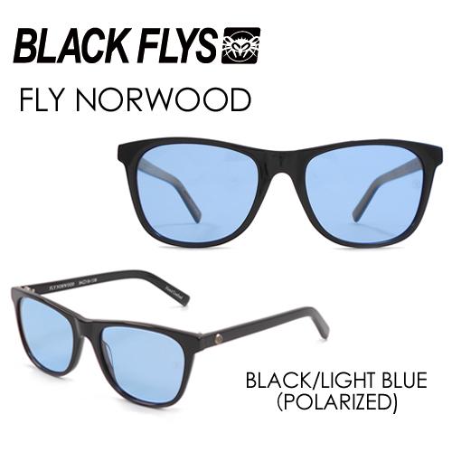 〔あす楽対応〕【送料無料】BLACKFLYS,ブラックフライズ,サングラス,偏光レンズ●FLY NORWOOD フライ ノーウッド BLK/LIGHT BLUE (POLARIZED) BF-1193-04