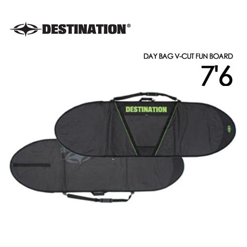 DESTINATION ディスティネーション サーフィン サーフボードケース●DAY BAG V-CUT FUN BOARD 7'6''