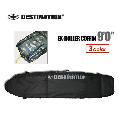 DESTINATION ディスティネーション サーフィン サーフボードケース トリップ 旅行●EX-ROLLER COFFIN ローラーコフィン 9'0''
