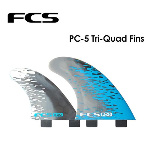 【送料無料】FCS,エフシーエス,フィン,トライ,クアッド,パフォーマンスコア●PC-5 TRI QUAD FIN SET