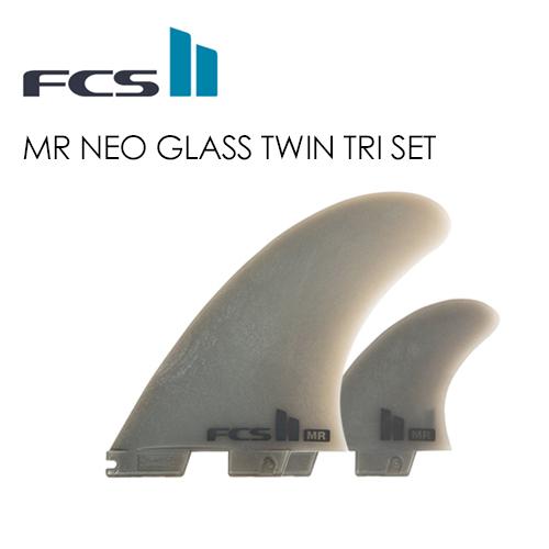〔あす楽対応〕【送料無料】FCS2,エフシーエス,フィン,トライフィン,マーク・リチャ―ズ,ネオグラス●FCSII MR NEO GLASS Twin Tri Set XL
