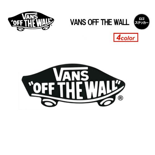 VANS バンズ ステッカー メール便対応可●VANS OFF THE WALL ステッカー LARGE