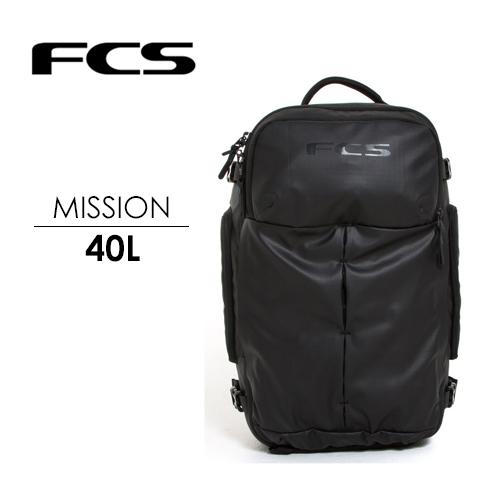 送料無料 FCS エフシーエス バックパック バッグ リュック 40L●MISSION ミッション