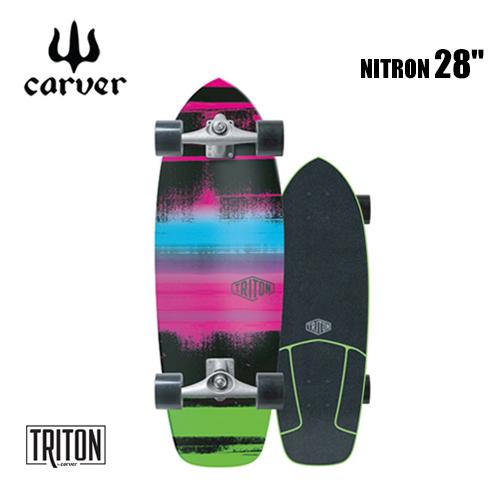 【送料無料】carver,カーヴァー,スケートボード,コンプリート●28