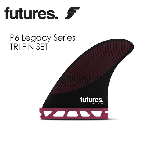 〔あす楽対応〕【送料無料】FUTUREFINS,フューチャーフィン,レガシー,RTM HEX,PIVOT●LEGACY SERIES P6 TRI FIN SET