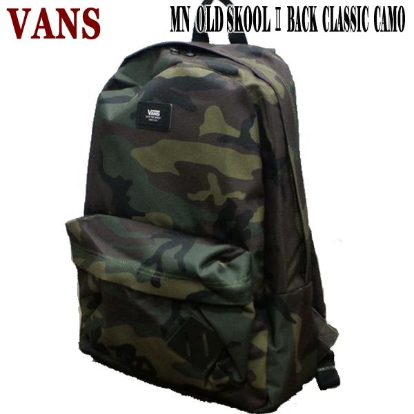 VANS/バンズ ヴァンズ OLD SKOOL 2 CLASSIC BACKPACK CAMO 鞄 リュック バックパック