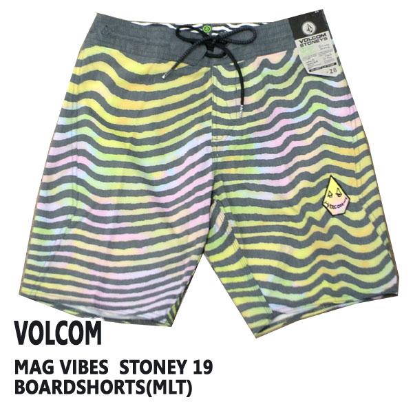 VOLCOM ボルコム MAG VIBES STONEY 19 日本最大級の品揃え BOARDSHORTS 男性用 値下げしました サーフパンツ MLT ボードショーツ 入荷 卓抜
