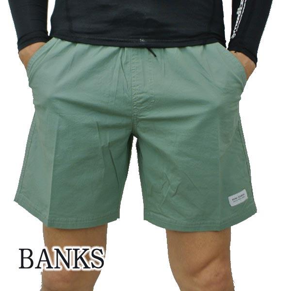 BANKS バンクス PRIMARY ELASTIC BOARDSHORTS LEAF 男性用 サーフパンツ ボードショーツ サーフトランクス 水着 入荷 メンズ 安心の実績 高価 買取 強化中 キャンセル不可 返品 売れ筋 海パン BSE0297