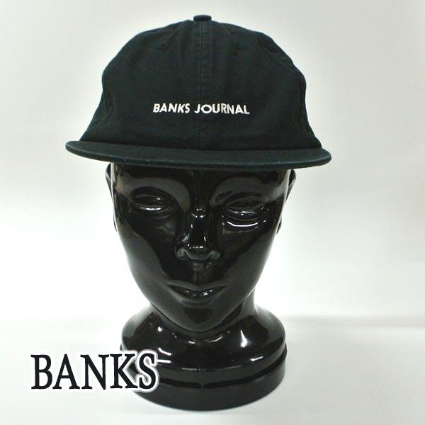 BANKS スピード対応 全国送料無料 バンクス LABEL 10%OFF HAT DIRTY BLACK CAP キャップ入荷 帽子 日よけ 交換及びキャンセル不可 キャップ ハット 返品